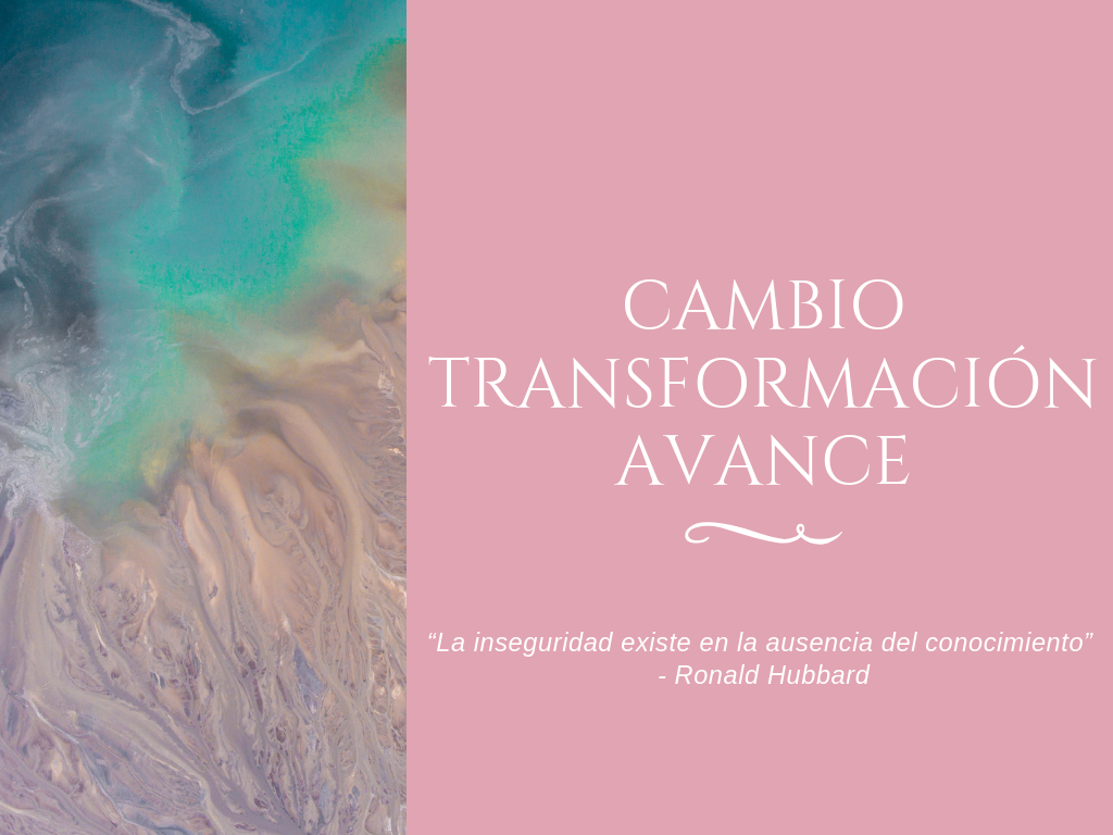 cambio, transformación, avance